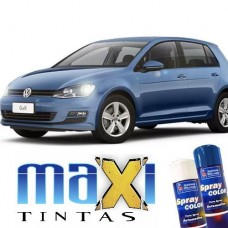 Spray Automotivo Azul Silk + Spray Verniz 300ml