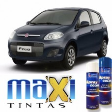 Spray Automotivo Azul Buzios + Spray Verniz 300ml