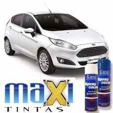 Spray Automotivo Branco Artico + Spray Verniz 300ml