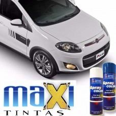 Spray Automotivo Branco Banchisa + Spray Verniz 300ml