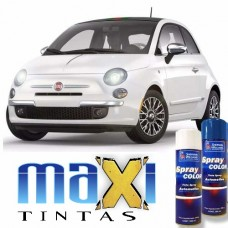 Spray Automotivo Branco Caldo + Spray Verniz 300ml