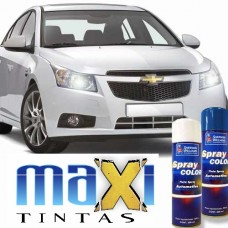 Spray Automotivo Branco Summit + Spray Verniz 300ml