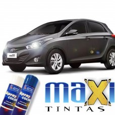 Spray Automotivo Cinza Titanium + Spray Verniz 300ml