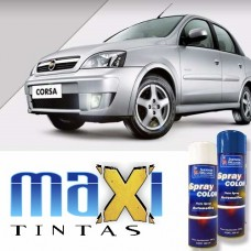 Spray Automotivo Prata Escuna + Spray Verniz 300ml