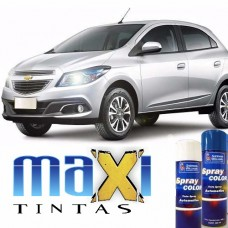 Spray Automotivo Prata Ice/Switchblade + Spray Verniz 300ml