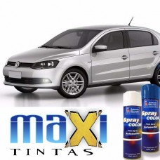 Spray Automotivo Prata Sargas + Spray Verniz 300ml