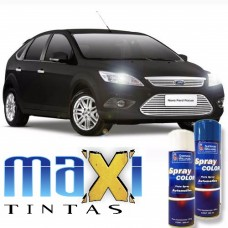 Spray Automotivo Preto Gales + Spray Verniz 300ml