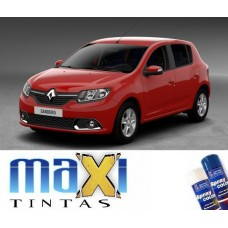 Spray Automotivo Vermelho Vivo + Spray Verniz 300ml