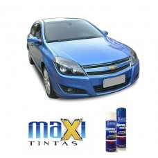 Spray Automotivo Azul Arian GM + Verniz Spray 300ml