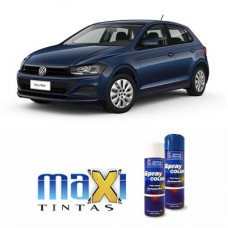 Spray Automotivo Azul Night VW + Verniz Spray 300ml