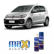 Spray Automotivo Prata Sirius VW + Verniz Spray 300ml