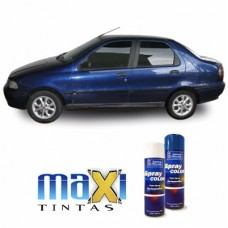 Spray Automotivo Azul Santiago + Verniz Spray 300ml