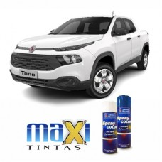 Spray Automotivo Branco Polar Toro + Spray Verniz 300ml