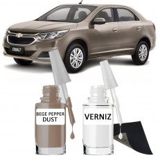 Tira Risco - GM Bege Pepper Dust + Verniz 15ml
