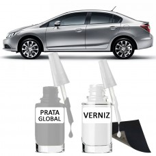 Tira Risco - Honda Prata Global NH700 + Verniz 15ml